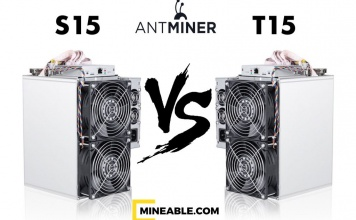 Antminer S15 T15 Technical Features and Payback